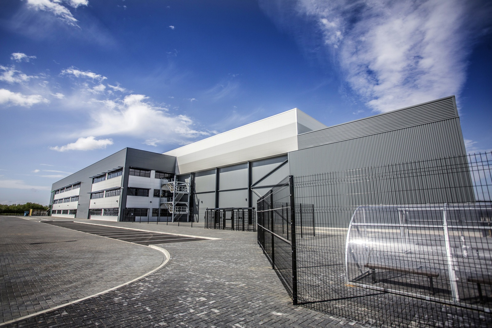 temperature controlled production facility at gateway Peterborough